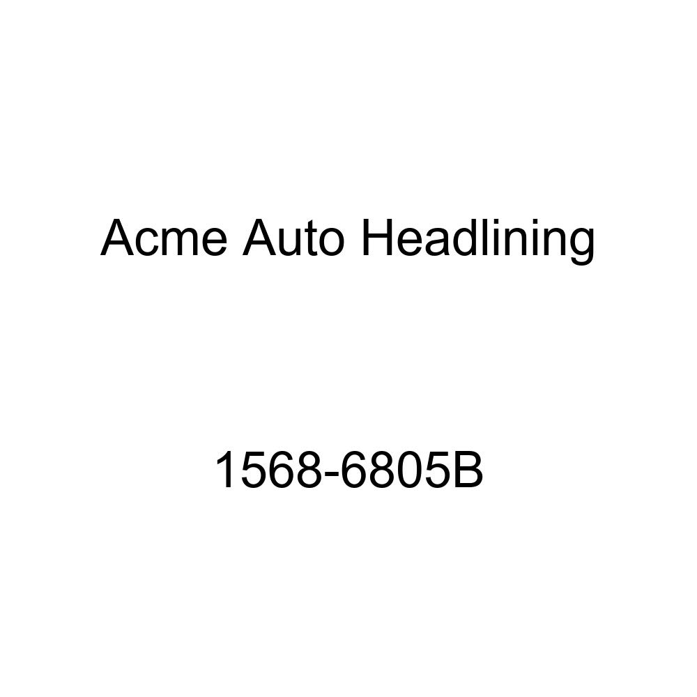 1957 Pontiac Catalina 2 Door Hard Top Convertible 6 Bow, 3 Chrome Acme Auto Headlining 1568-6805B Medium Blue Replacement Headliner