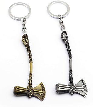 Diseño de Infinity Plateado Metal Llavero favor