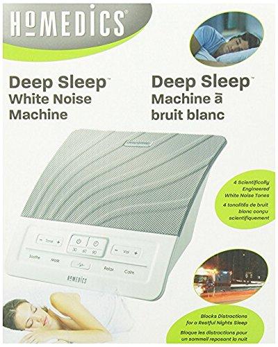 HoMedics Deep Sleep White Noise Machine, Model #HDS-1000