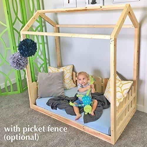 House Frame Toddler Bed PREMIUM WOOD