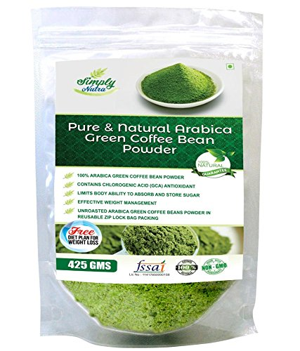 Buy Simply Nutra Green Coffee Beans Powder 425 Gm For Natural Weight Loss Online At Low Prices In India Amazon In