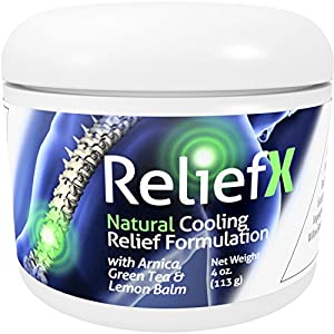 Naturo Sciences (4oz.) ReliefX May Help Relieve Aches in Muscles, Joints and Spine - May Aid and Ease Discomfort During and After Physical Therapy or Activity by Naturo Sciences