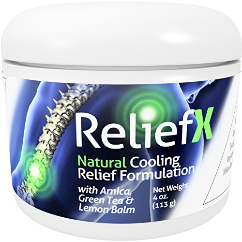 ReliefX 4oz. Pain Relief Cream with Arnica - May Help Relieve Soreness in Muscles, Joints, Feet and Lower Back