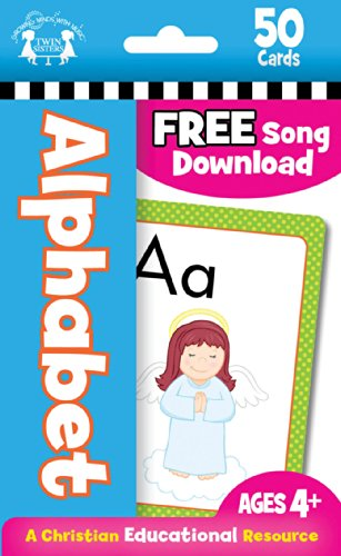 Alphabet Christian 50-Count Flash Cards (I'm Learning the Bible Flash Cards)
