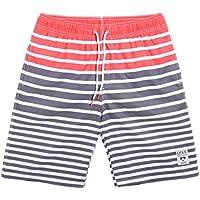 maamgic Mens Quick Dry Stretch Boardshorts Rayas Natación para Hombre Pantalones Cortos De Agua