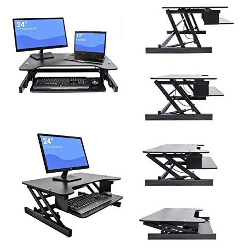 Lovely Happybuy Sit To Stand Desk Riser Free Height