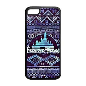 1pc Rubber Snap On Case Cover Skin For iphone 5s for you, Forever Young iphone 5s for you Covers