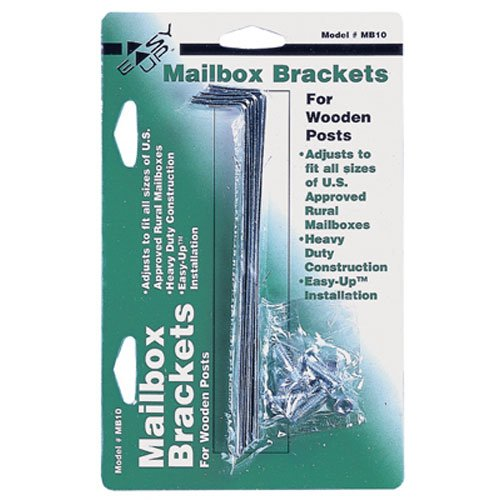 Gibraltar Mailboxes Galvanized Steel, Mailbox Mounting Bracket, MB100000