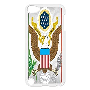 STR5-Custom Phone Case Eagle For iPod Touch 5