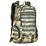 Matoger 35L Tactical Military MOLLE Backpack Waterproof Bag Assault Rucksack for Outdoors Hiking Camping Travel (ACU Camouflage) Review