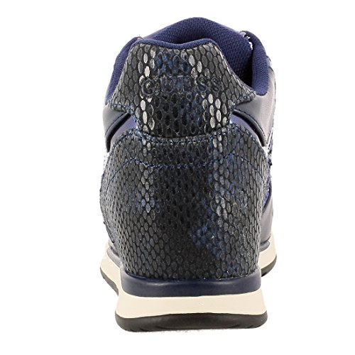GUESS (Laceyy) Sneaker Donna Ecopelle Tessuto Rialzo Paillettes FLLCY3FAB12 (39)