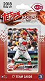 Cincinnati Reds 2018 Topps Factory Sealed Special Edition 17 Card Team Set with Joey Votto, Billy Hamilton and Homer Bailey Plus
