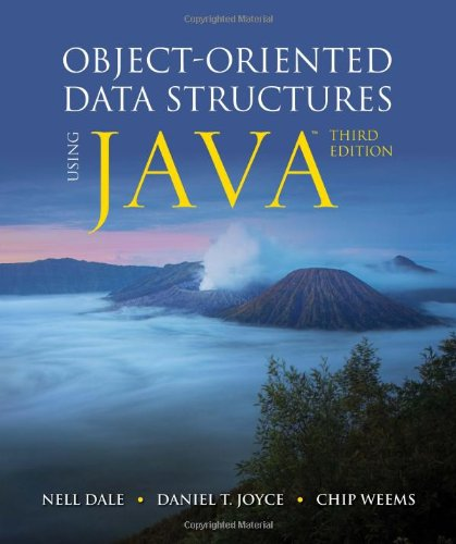 Object-Oriented Data Structures Using Java by Brand: Jones Bartlett Learning