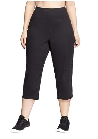53e5988125e4d0 Champion C9 Women's Plus Size Freedom Relaxed Mid-Rise Capri Leggings -  (Black, 3X) at Amazon Women's Clothing store: