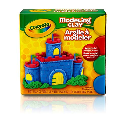 Crayola Modeling Clay 16 oz ( Pack of 2) - Crayola Magic Clay