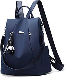 Anomcry Backpack Women Casual Shoulder Bag Purse Fashion PU Leather Travel Backpack