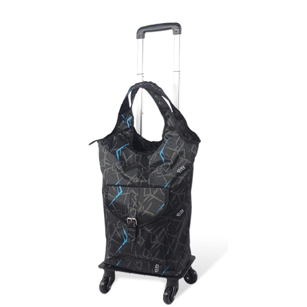 shopping cart Trolley bag Grocery cart Shopping Bag Travel bag Trolley can be stretched 360° rotation Bearing 12.5 kg Easy to use four ways