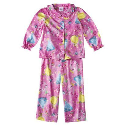 Disney Princess Toddler Girls Coat Pajamas Pink