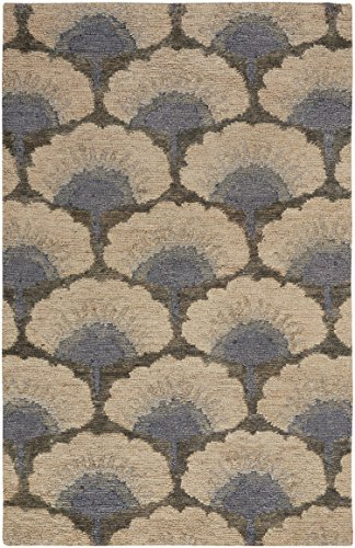 - Capel Rugs Williamsburg Ina Hand Knotted Rug - Ecru - 9'  x 12' - Rectangle