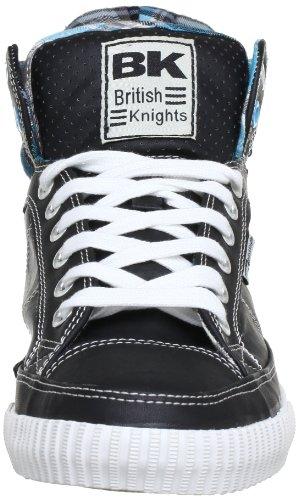 British Knights Atoll Cali, Men's High Top Schwarz (Black/Blue 12)
