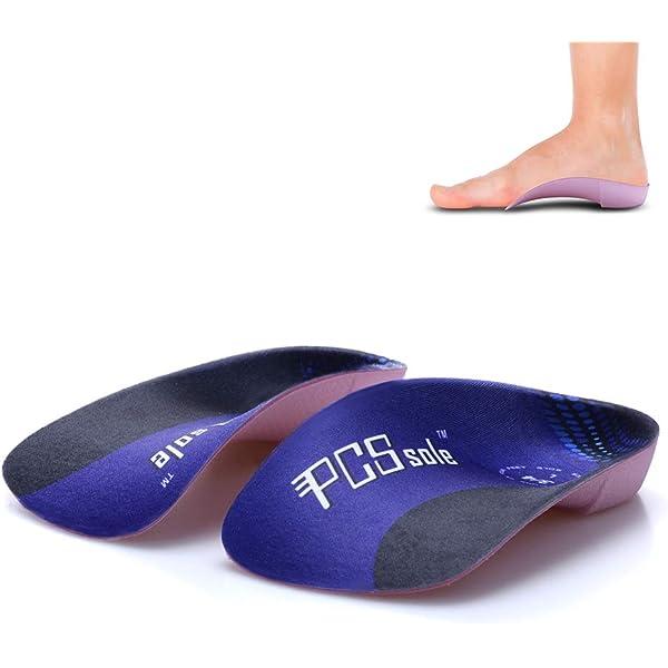 Pcssole's 34 Orthotics Shoe Insoles High Arch Supports Shoe