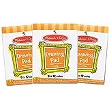 Melissa & Doug Drawing Paper Pad Bundle (3 Pack)