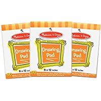 Melissa & Doug Drawing Paper Pad (9 x 12 inches) - 50...