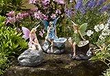 Smart Garden Solar Set of 3 Magical Fairy Shaped Spotlights LED