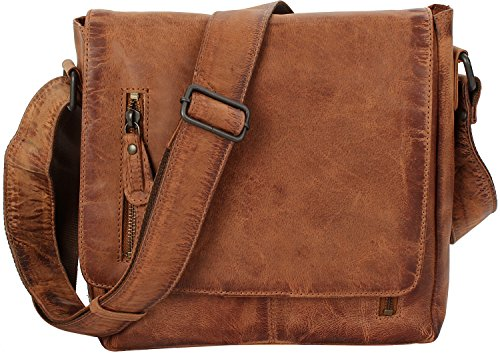 Brown Hamburg 26 Hamled Cm Leather Shoulder Portobello Bag X0wxfCqdvx