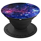 Galaxy Milky Stars Way Universe Science Teacher Scientist - PopSockets Grip and Stand for Phones and Tablets