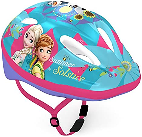 51IudznfKLL. AC SY450  - Disney Kinder-Fahrradhelm, verschiedene Designs: Cars / Mickey und Minnie / Winnie Pooh / Prinzessin
