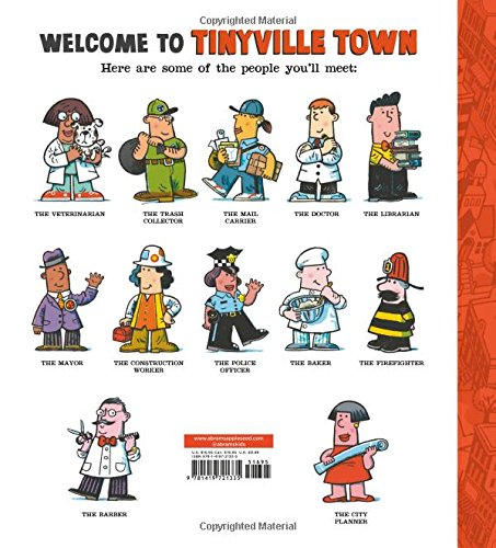 Gets to Work! (A Tinyville Town Book) by Abrams Appleseed (Image #1)