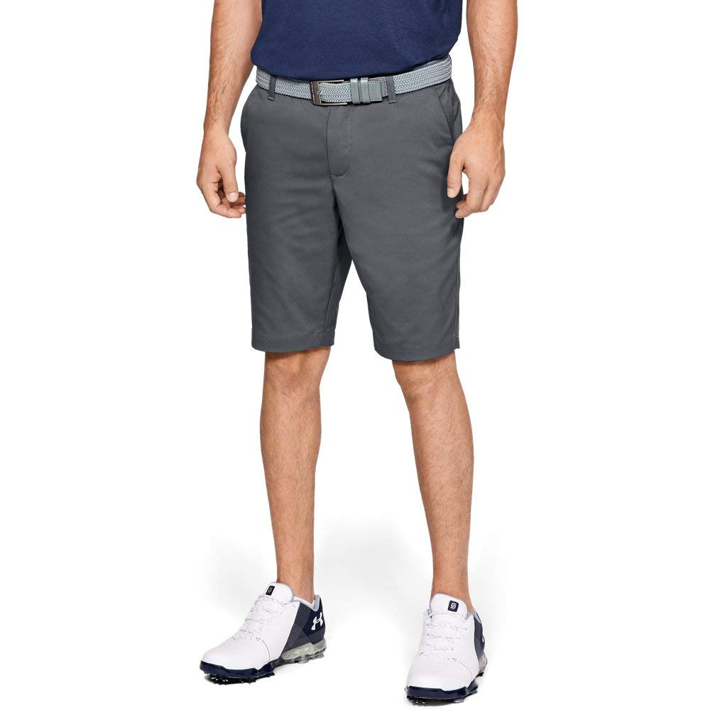 Under Armour Men's Showdown Tapered Golf Shorts, (012)/Pitch Gray, 30 by Under Armour