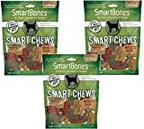 Cheap (3 Pack) Smartchews Safari Chews For Dogs, Small, 14 Pieces Each