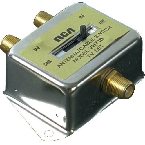 (RCA 2-Way Coaxial Cable Switch)