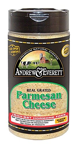 - ANDREW & EVERETT CHEESE GRATED PARMESAN 7OZ