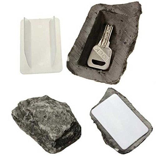 Price comparison product image Special Offer Outdoor Spare House Safe Hidden Hide Security Rock Stone Case Box for Key Hide