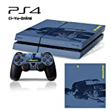 Ci-Yu-Online VINYL SKIN [PS4] Uncharted 4: A Thief's End #4 Whole Body VINYL SKIN STICKER DECAL COVER for PS4 Playstation 4 System Console and Controllers - Uncharted #4