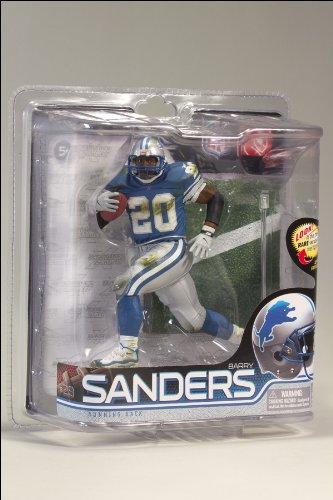 McFarlane Toys McFarlane Detroit Lions Barry Sanders Figurine-Series 28 ()