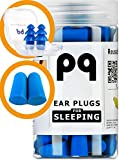 PQ Earplugs for Sleep - Comfortable & Reusable Ear Plugs for Side Sleepers - Sound Blocking Level 32 dB - Noise Cancelling for Snoring & Reusable Womens Ear Plugs for Swimming & Traveling