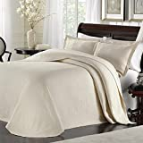 LaMont Home Majestic Bedspread Ivory
