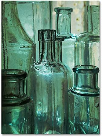 Antique Bottles Artwork