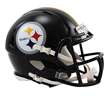 d297bcbf9 Amazon.com   Riddell Pittsburgh Steelers NFL Replica Speed Mini Football  Helmet   Sports Related Collectible Mini Helmets   Sports   Outdoors
