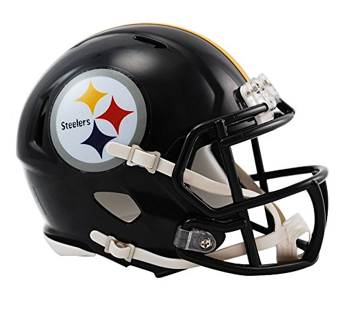 - Riddell Pittsburgh Steelers NFL Replica Speed Mini Football Helmet