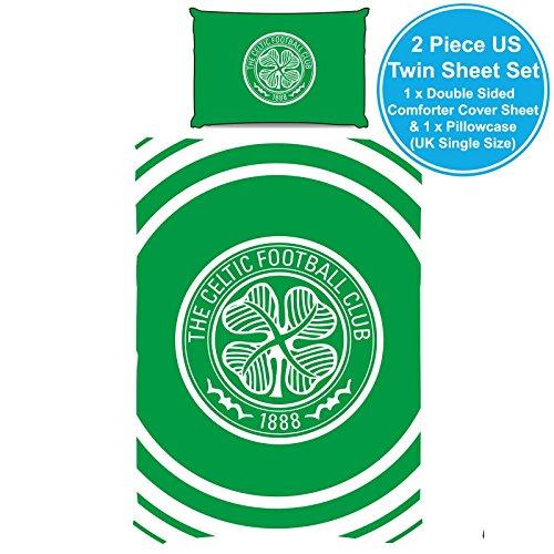 Celtic F.C. Reversible Pulse Single Duvet Cover Set