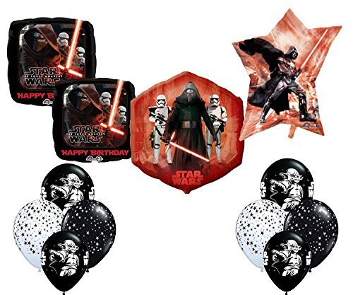 Star Wars Deluxe Birthday Party Balloon Decoration Kit