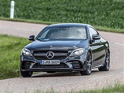 Mercedes C43 Amg Coupe >> Amazon Com Mercedes Benz C43 Amg Coupe 2019 Poster 18 X 24