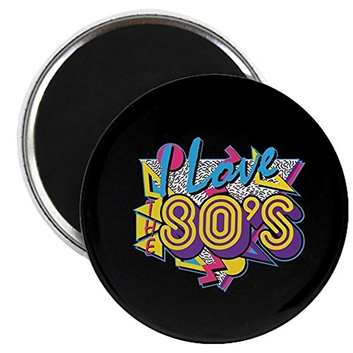 CafePress - I Love The 80S - 2.25