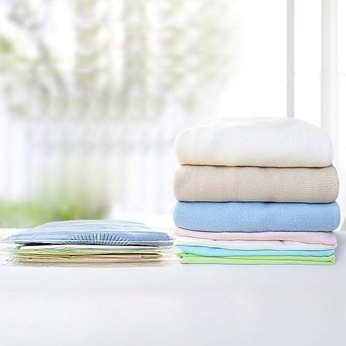 FOONEE - Bolsas de almacenamiento al vacío, bolsa de compresión reutilizable, organizador de embalaje enrollable para equipaje de viaje y almacenamiento en ...
