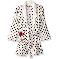Betsey Johnson Girls' Big Velvet Fleece Plush Robe